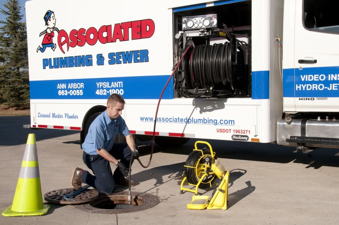 Sewer & Drain Cleaning Services in Ann Arbor Michigan - sewercleanup